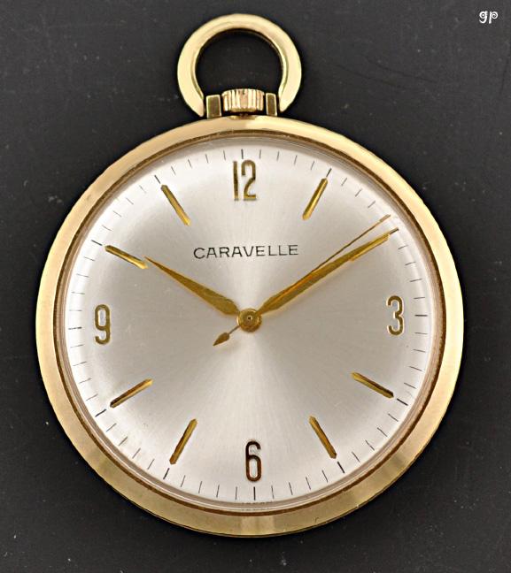 beautiful gold filled vintage caravelle pocket 7